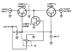 Variable Gain Amplifier controlled by voltage
