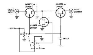 Variable Gain Video Amplifier