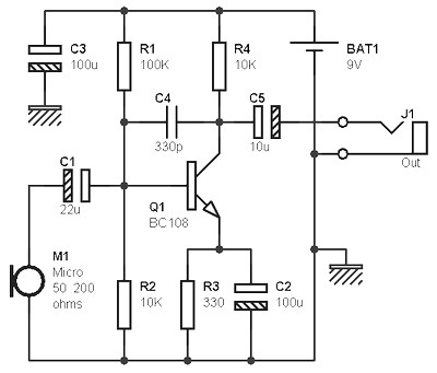 Line Preamplifier Based