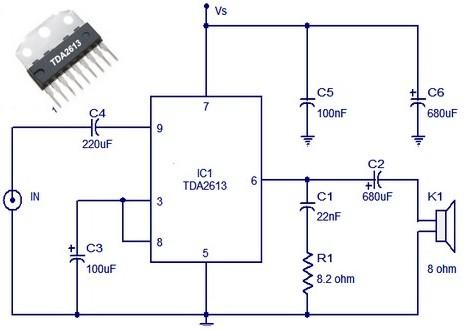 car stereo amplifier based tda1535 amplifier circuit design rh amplifiercircuit net Fusion Car Stereo Amplifier 4 Channel Car Amplifier