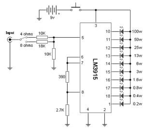 sound level meter schematic