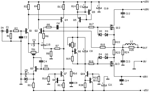 small resolution of tag high power audio amplifier