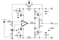 12W FET audio amplifier
