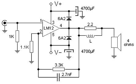 lm1876 pcb layout