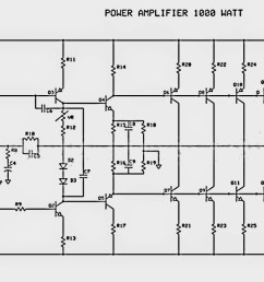 1000w audio amplifier circuit diagram [ 1251 x 679 Pixel ]
