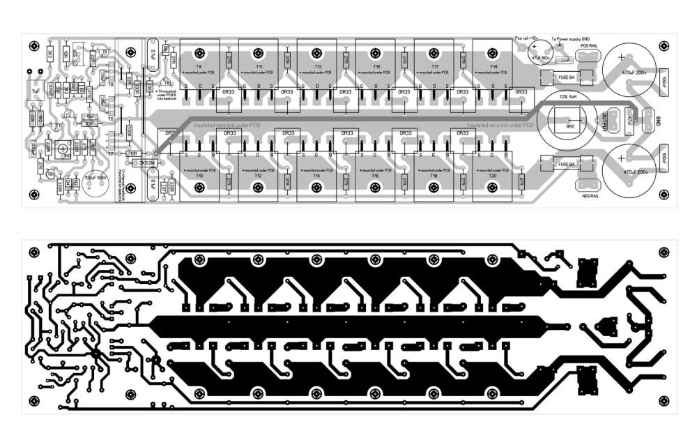 medium resolution of 800watt subwoofer amplifier circuit diagram