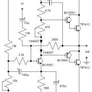 600W MOSFET Power Amplifier - Amplifier Circuit Design