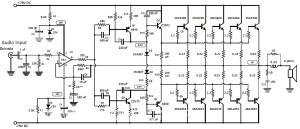 1000 watt audio amplifier Archives  Amplifier Circuit Design