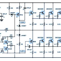 2000w Power Amplifier Circuit Diagram Speaker Cabinet Wiring 70v Archives - Design