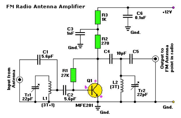 amplifier circuit design amplifier project scheme diagram rh amplifiercircuit net Toslink Signal Amplifier 72MHz Amplifier Signal