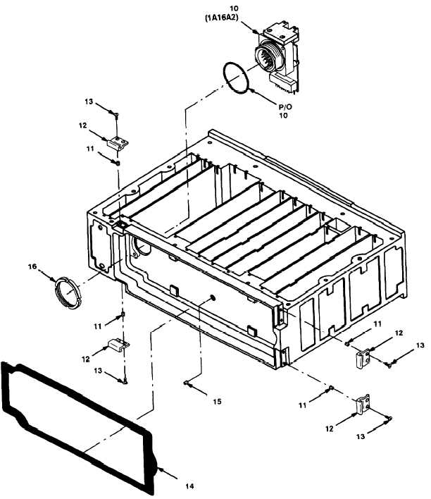 Figure 4. Chassis Assembly RT-1523A(C)/U (Sheet 2 of 3).