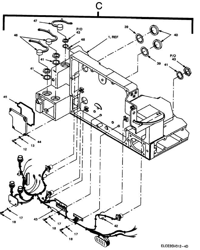 Figure 12. Chassis Assembly, Adapter AM-7239A/VRC (Sheet 4