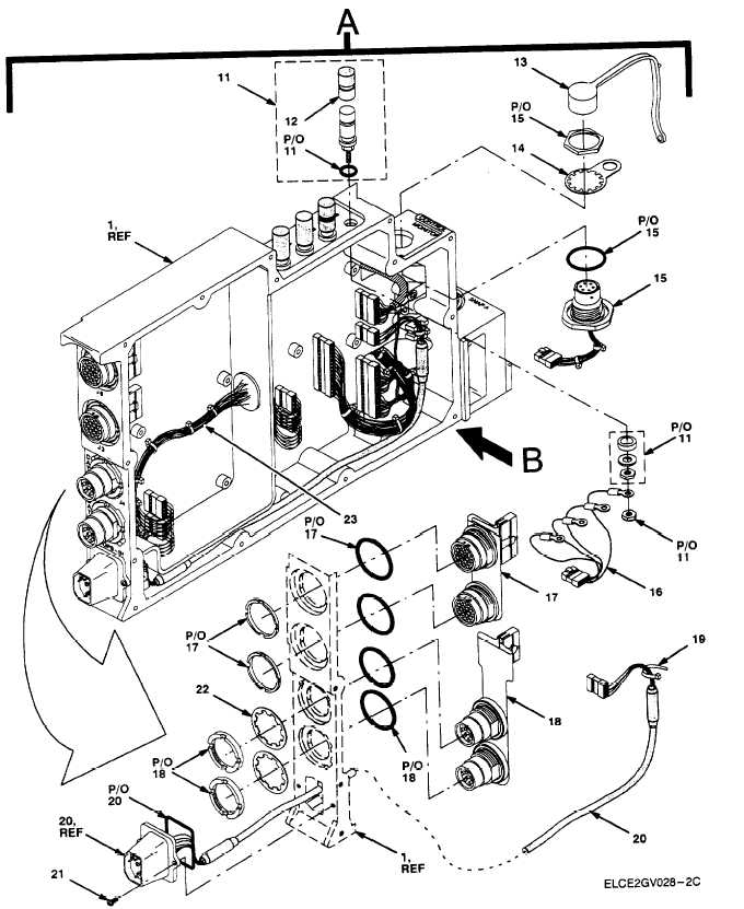 Figure 15. Chassis Assembly, Adapter AM-7239D/VRC (Sheet 2