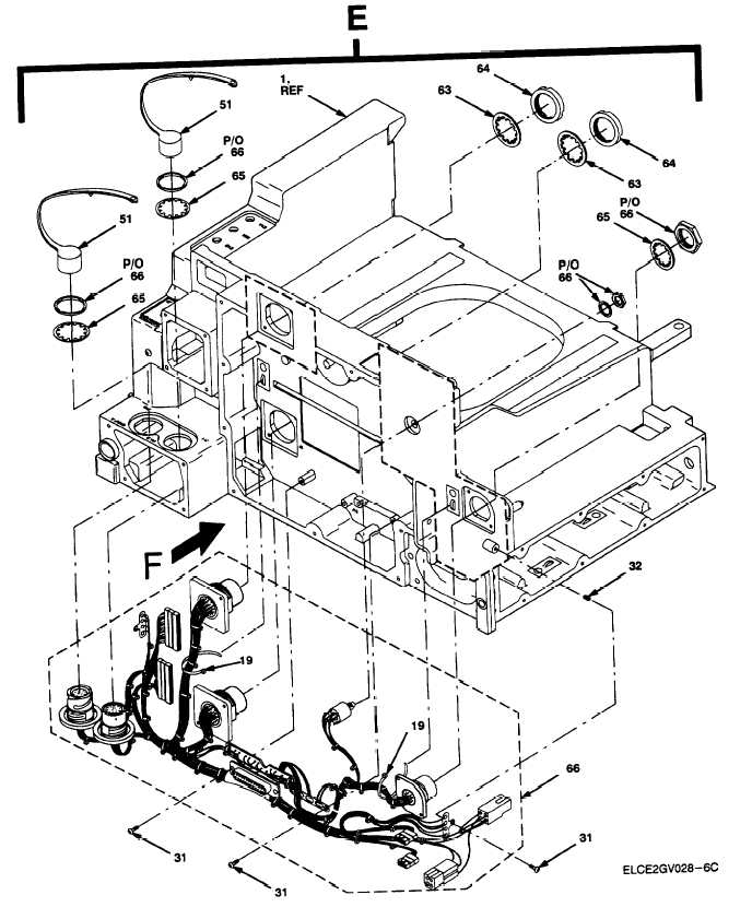 Figure 15. Chassis Assembly, Adapter AM-7239D/VRC (Sheet 6