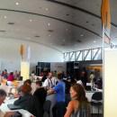 The Hive Social Media lounge at SHRM12