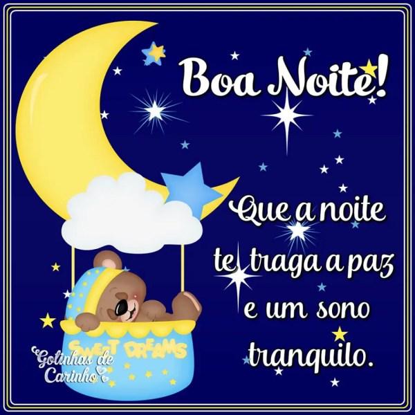 Boa noite com carinho