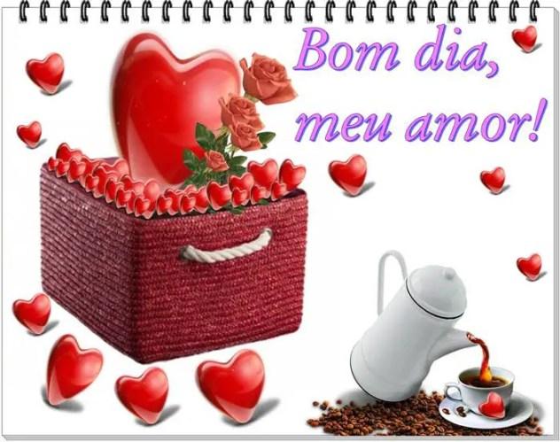 Imagens De Bom Dia Amor Lindo Carinhoso Feliz E Abençoado