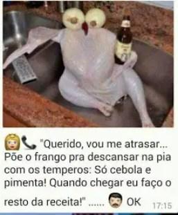 Franco tomando cerveja!
