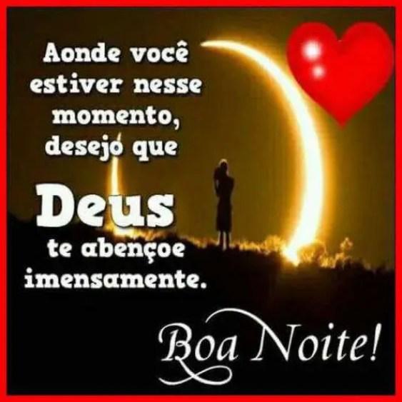 Deus te abençoe imensamente