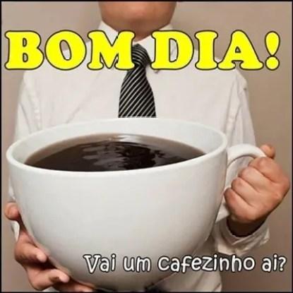 Um cafezinho!