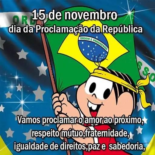 15 de novembro dia da proclamação da republica