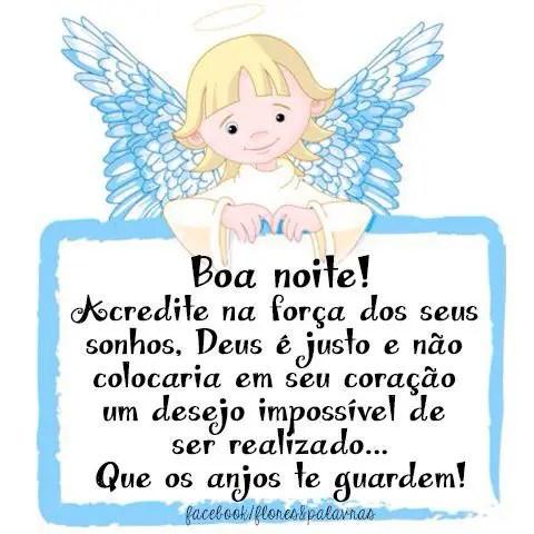 Que os anjos te guardem