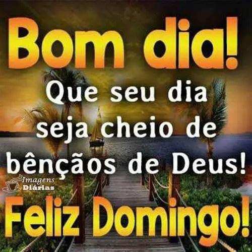 Feliz domingo bom dia com Deus