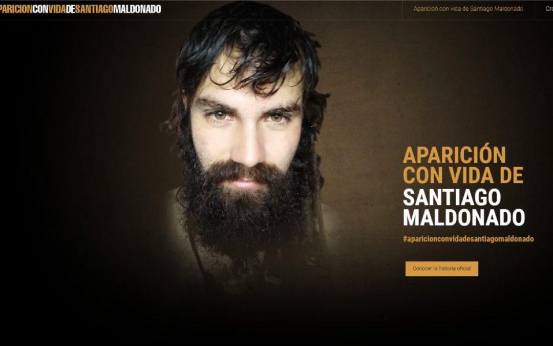 WordPress y la paranoia: ¿fue el sitio SantiagoMaldonado.com creado antes que él desaparezca?