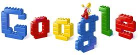 Logo Google por los 50 años de Lego