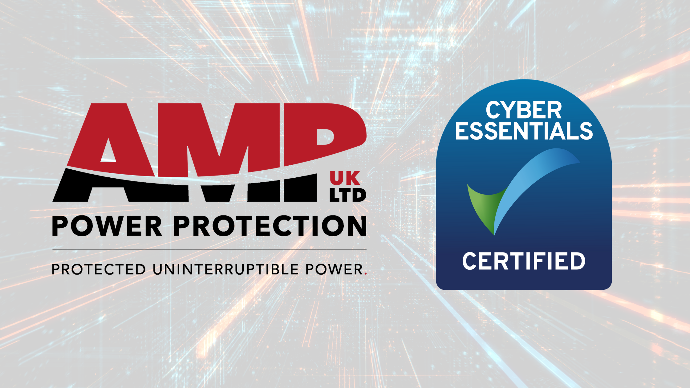 AMP Power Protection Achieve Cyber Essentials Accreditation