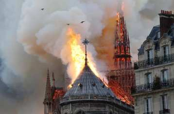Incendio Catedral de Notre Dame 5