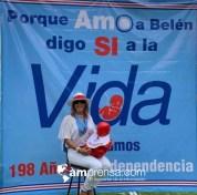 Marcha pro-vida en Belén-15 de septiembre