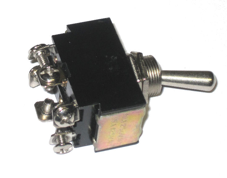 Toggle Switches Toggle Switch 20 Amp Screw Terminal Spst Momoff