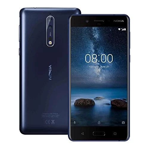 Nokia 8 mobile on emi