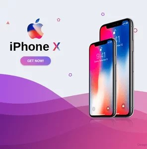 iPhone X on emi