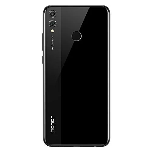 Honor 8x Mobile Features -black 6gb 128gb
