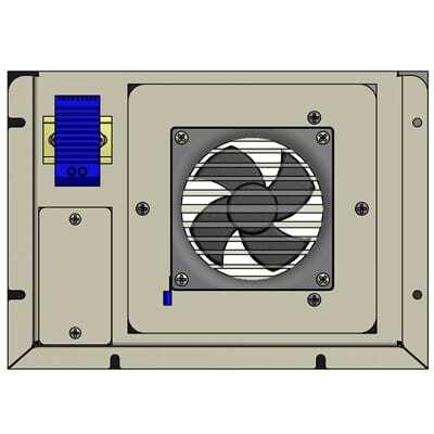 exhaust fan filter 100 cfm 48v dc