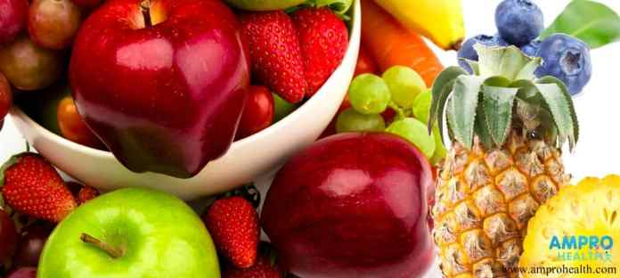 ผลไม้ที่มีตามฤดูกาล แอปเปิ้ล สับปะรด กล้วย องุ่น
