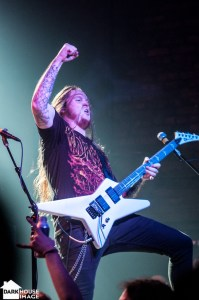 Havok: Riffs From Hell at Trees Dallas – 10/2/13 | Amps and Green Screens