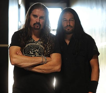 An Early Morning Chat With James LaBrie and Matt Guillory | Amps and Green Screens