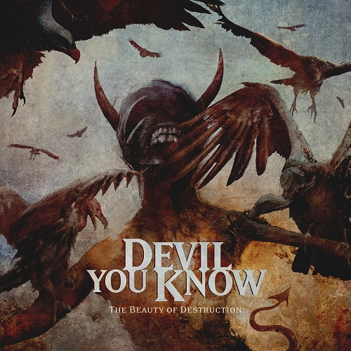 Devil You Know - The Beauty Of Destruction CD cover