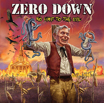 Zero Down - No Limit To The Evil - Amps and Green Screens