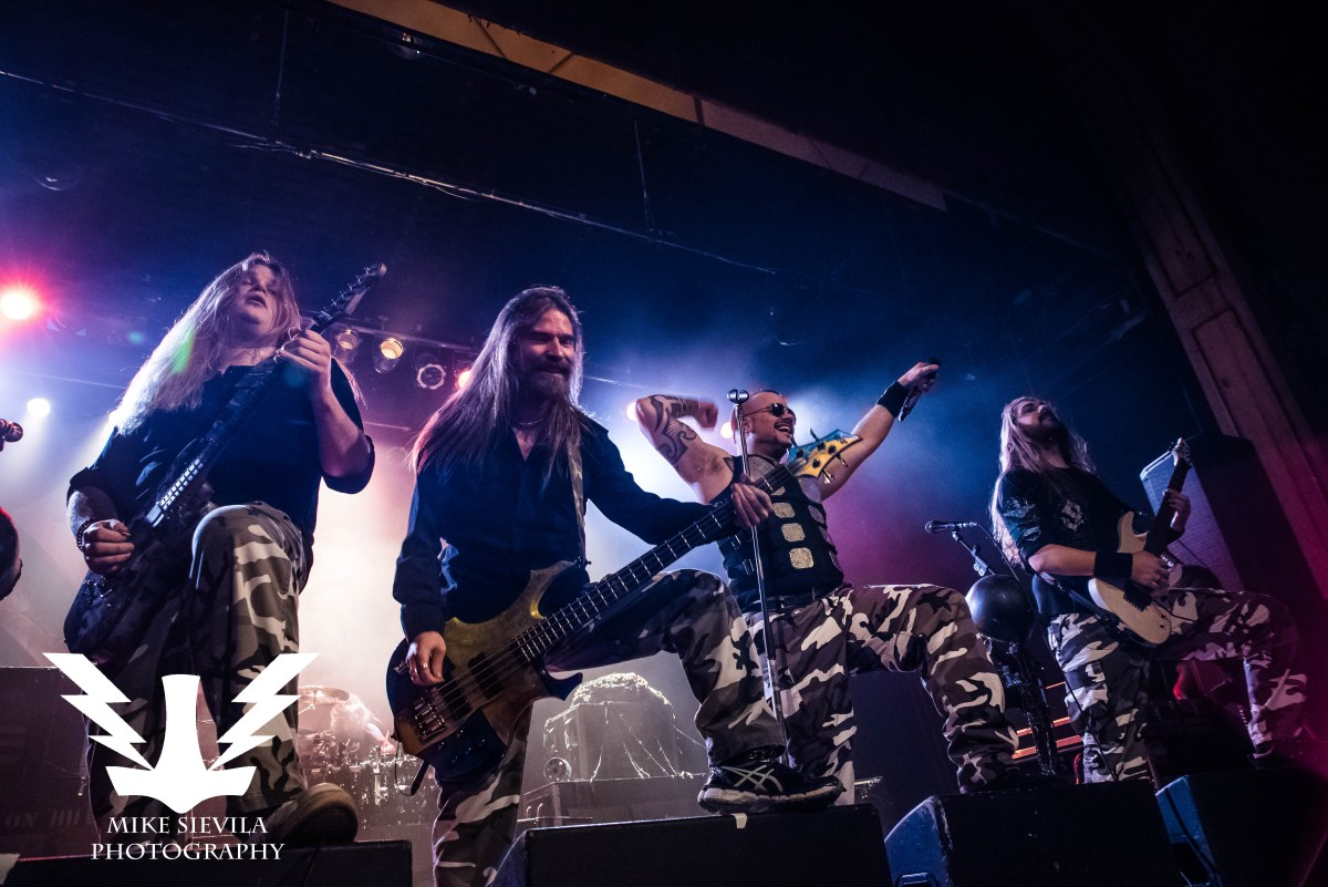 Sabaton, Battle Beast, and Leaves' Eyes Kick Off Their Tour In Philly!! - The Trocadero 4/20/17