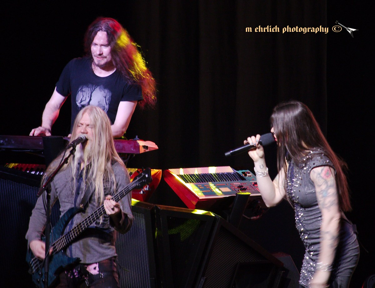 Nightwish Brings Decades To The Bomb Factory!! - Dallas, TX 4/17/18