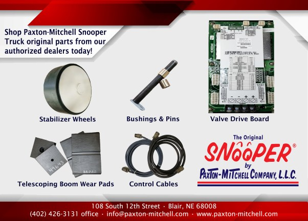 Paxton-Mitchell Snooper Truck Parts and Service