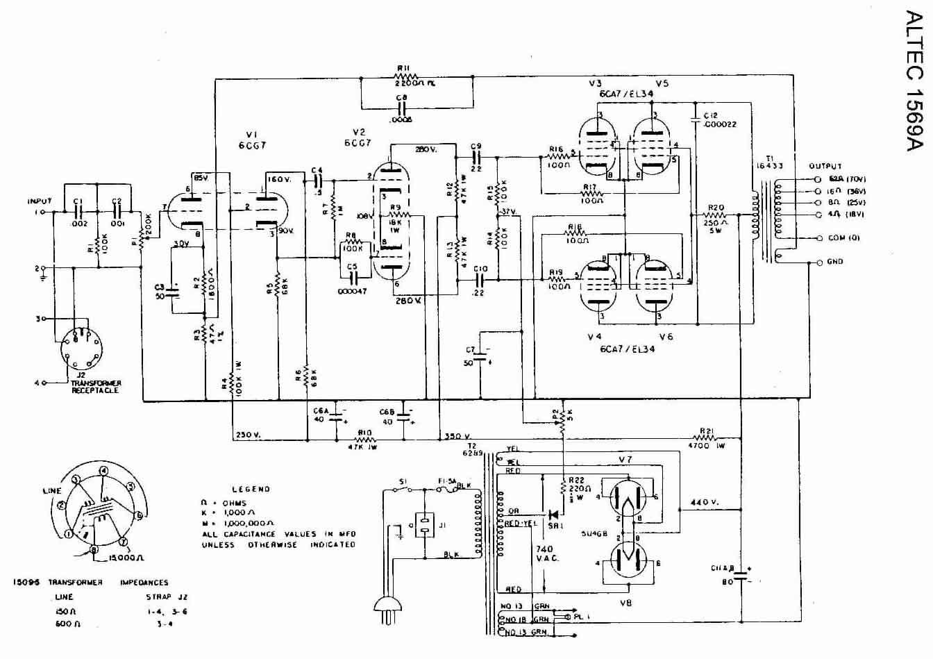 Altec Model 19 Components