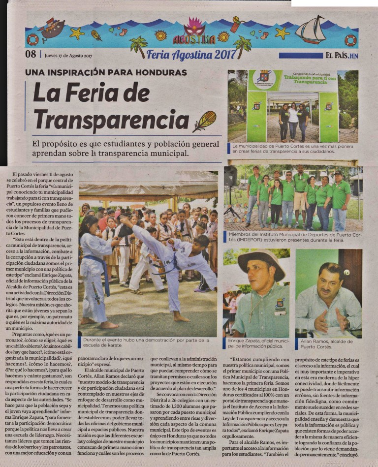 Dia Municipal de Transparencia