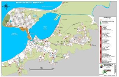 Mapa de Barrios y Colonias