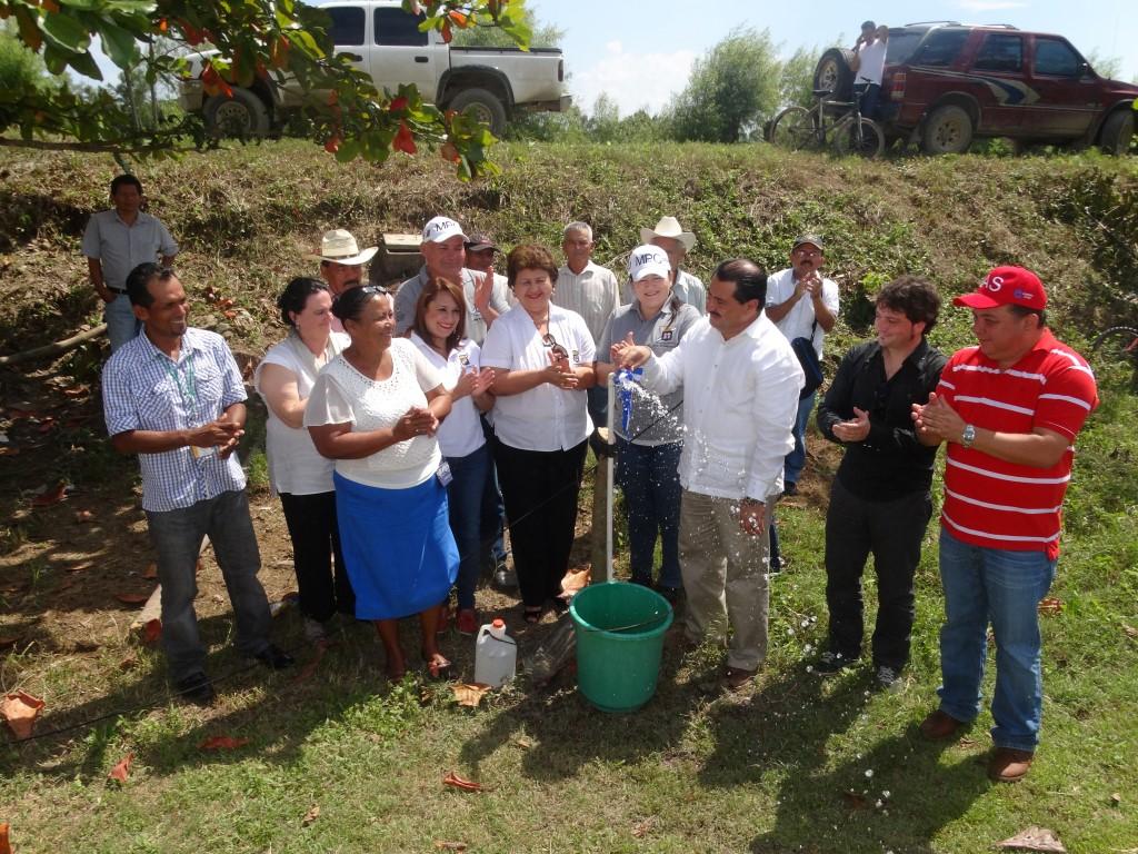 Inauguracion Proyecto Agua Pantano