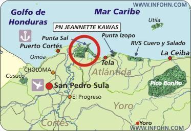 parque_nacional_jeannette_kawas_map
